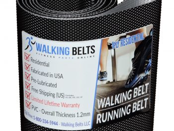 Sole F65 (565812) (2014) Treadmill Walking Belt 1ply Residential + Free 1 oz. Lube