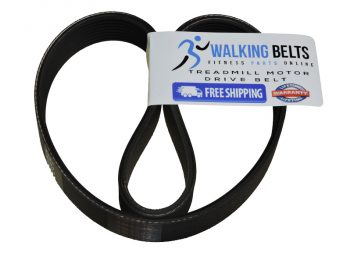 Smooth 7.35 R (2008) Treadmill Drive Belt + Free 1 oz. Lube
