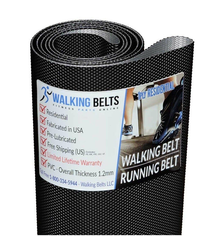 Precor M9.2x M9.27 S//N 00YN Treadmill Walking Belt 2ply Premium Free 1oz Lube