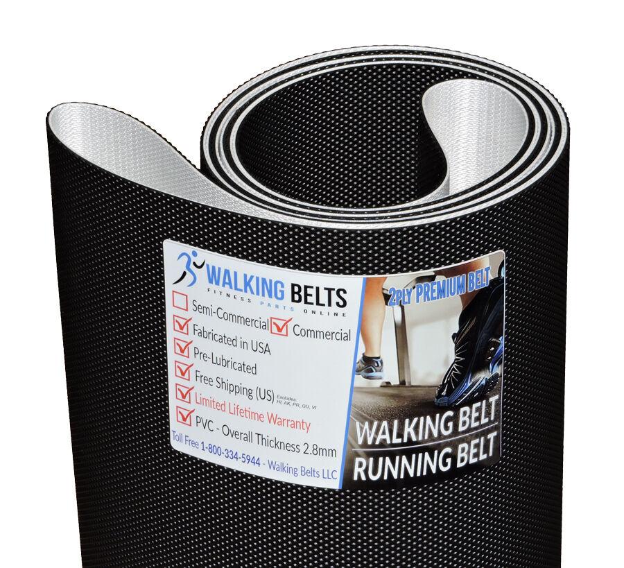 Horizon Fitness Treadmill Tighten Belt: BodyGuard T360 Treadmill Walking Belt 2ply Premium + Free