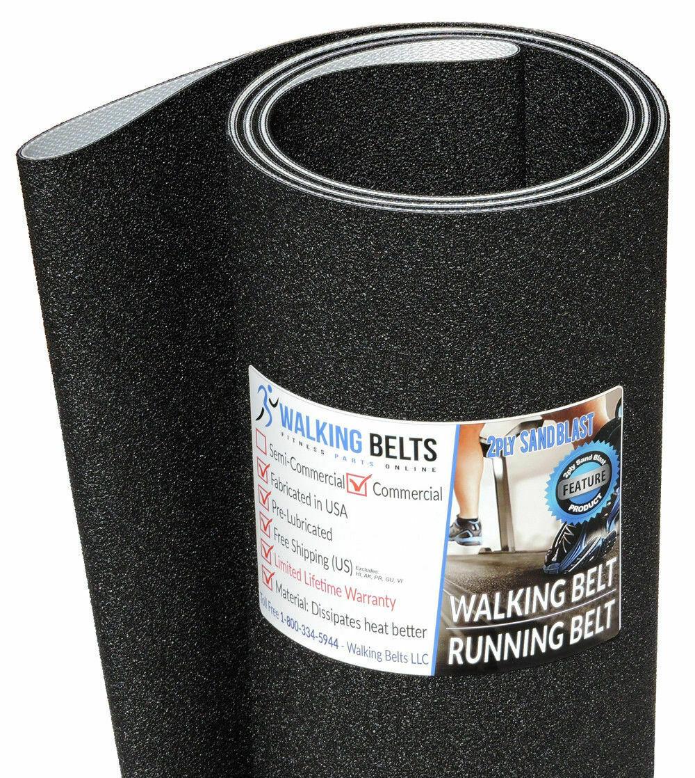 Trotter 535 Treadmill Running Belt 1ply Sand Blast Free 1oz Lube