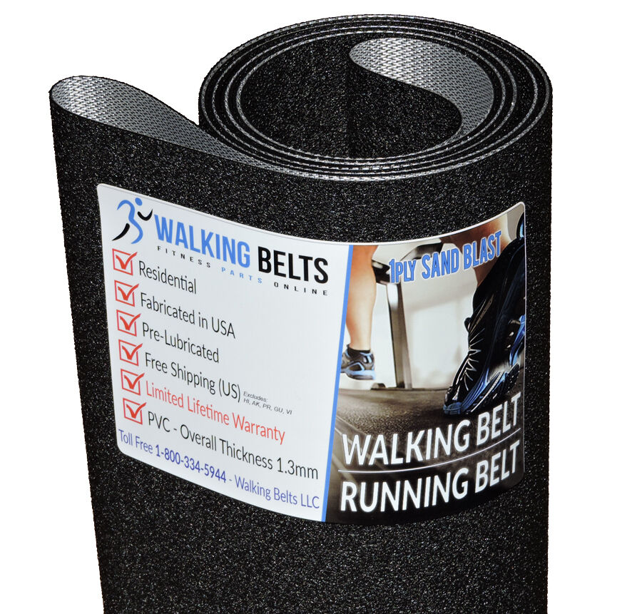 Landice Treadmill Safety Key: Tunturi-620P-Treadmill-Running-Belt-1ply-Sand-Blast-Free